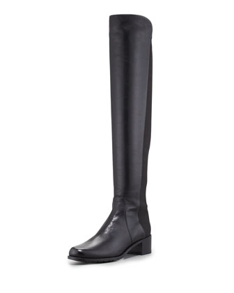 Reserve Napa Stretch Over-the-Knee Boot, Black