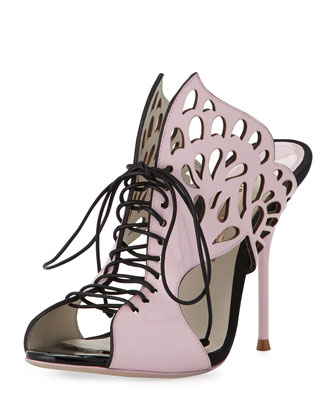 Kimimi Lace-Up Butterfly Sandal