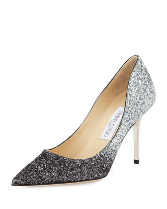 Agnes Glittered Degrade Pump