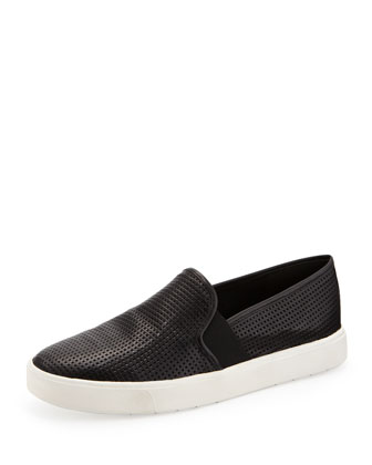 Blair 5 Perforated Slip-On, Black