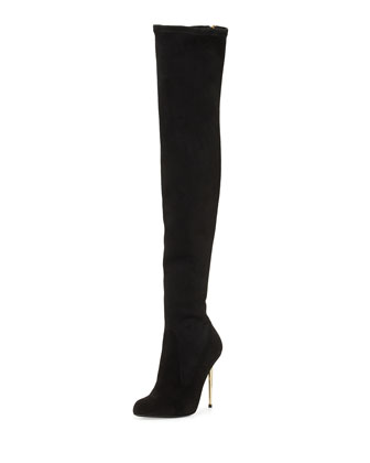 Zip-Back Over-the-Knee Boot