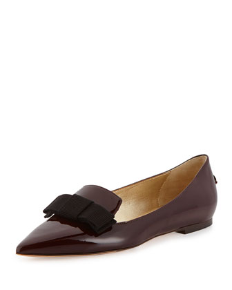 Gala Patent Bow Loafer, Mirto