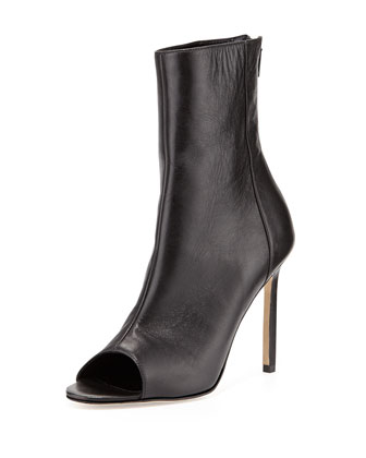 Basketta Peep-Toe Bootie