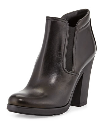Gored Napa Ankle Boot