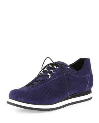 Relay Suede Sneaker, Ink