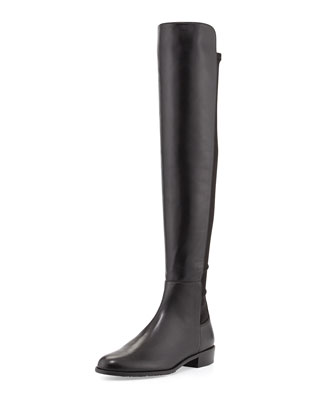 Schizo Napa Stretch Over-the-Knee Boot, Black