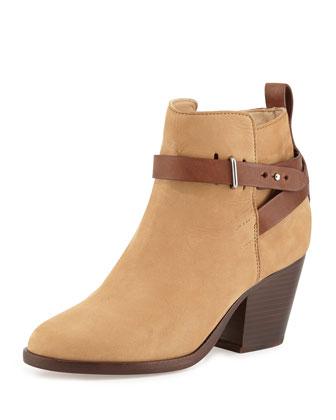 Dalton Nubuck Ankle Boot, Camel