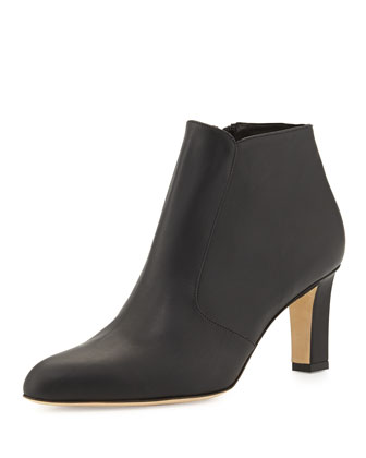 Zavattinapla Leather Ankle Boot