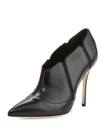 Desolada Stretch-Inset Ankle Boot