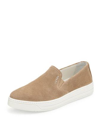 Suede Skate Shoe, Deserto