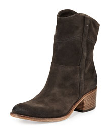 Martana Suede Ankle Boot, Anthracite