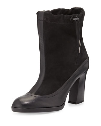 Holt Slouchy Ankle Boot, Black