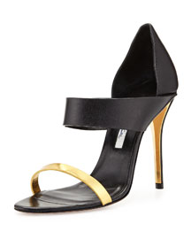 River Open-Toe Double Banded Sandal