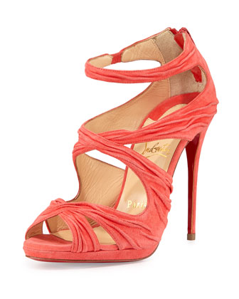 Kashou Suede Red Sole Sandal