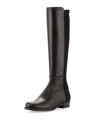 Coast Mezzamezza Napa Leather Knee Boot, Black