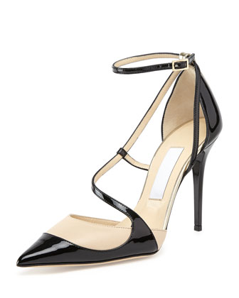 Mutya Asymmetric Point-Toe Pump