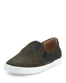 Demi Glittered Skate Shoe, Gold