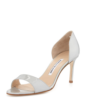 Catalina Patent d'Orsay Pump, Silver