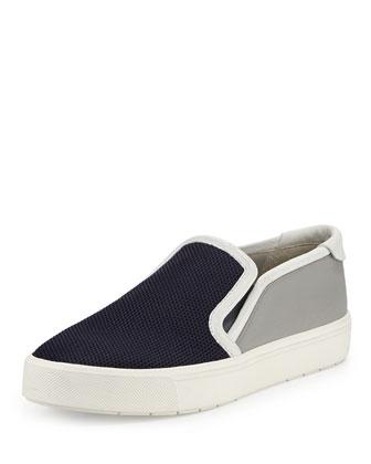 Bram Mesh Slip-On Sneaker, Stone