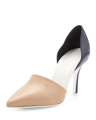 Claire Two-Piece Colorblock Pump