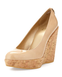 Corkswoon Patent Wedge Pump, Adobe