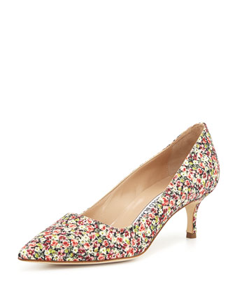BB Fabric 50mm Pump, Rose Liberty (Made to Order)