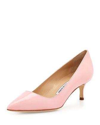 BB Patent 50mm Pump, Light Pink (Made to Order)