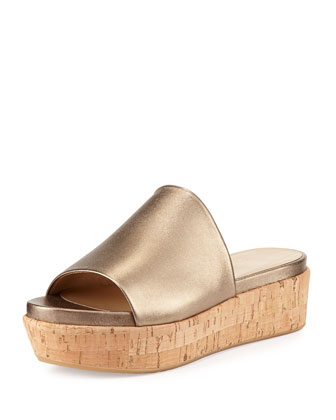 Flatout Metallic Wedge Slide, Ale