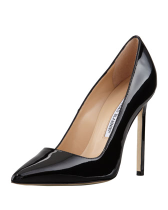 BB Patent 115mm Pump, Black (Made to Order)
