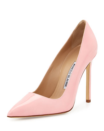 BB Patent 115mm Pump, Light Pink (Made to Order)