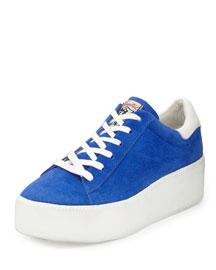 Cult Platform Sneaker, Eletrica/White