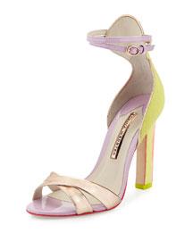 Nicole Hot Bubblegum Sandal, Sunny Lime