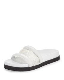 Jac Mesh Sport Sandal, White