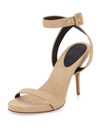 Juliana Naked Suede Sandal, Bench