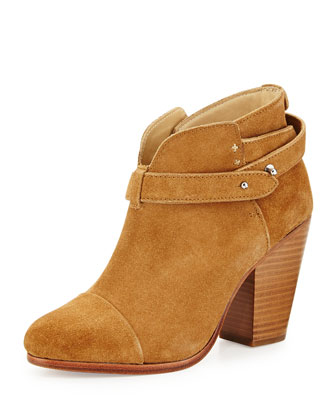 Harrow Suede Ankle Boot, Hazel