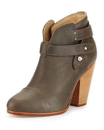 Harrow Leather Ankle Boot, Taupe