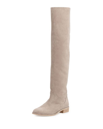 Rockerchic Pull-On Knee Boot, Fossil