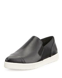 Paeyer Pointy-Toe Sneaker, Black