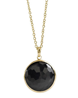 Ippolita Onyx Lollipop-Pendant Necklace