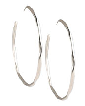 Ippolita Squiggle Hoop Earrings