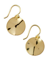 Ippolita Wavy Disc Earrings
