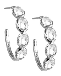 Ippolita Quartz Hoop Earrings