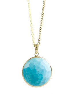Ippolita Turquoise Lollipop-Pendant Necklace