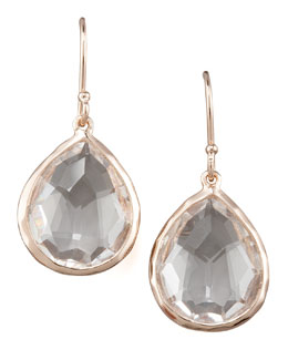 Ippolita Rose Mini Teardrop Earrings