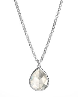 Ippolita Quartz Teardrop Necklace