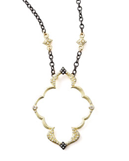 Armenta Open-Frame Pendant Necklace