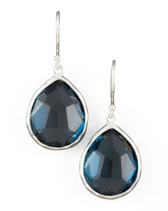 Topaz Teardrop Earrings, Small