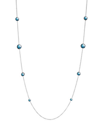 Lollipop London Topaz Necklace, 38