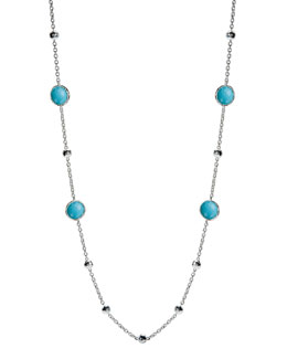 "Ippolita Lollipop Turquoise Necklace, 37""L"