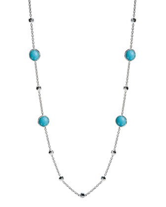 Lollipop Turquoise Necklace, 37